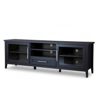 Baxton Studio I-1506 Espresso TV Stand-One Drawer
