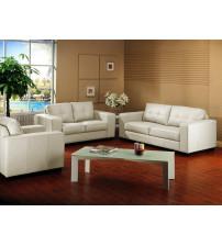 Baxton Studio IDS06LT-Pearl set Whitney Modern Sofa Set in Ivory