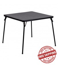 Flash Furniture Black Folding Card Table JB-2-GG