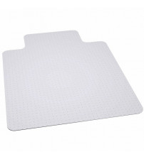 Flash Furniture MAT-124164-GG Big & Tall Capacity Carpet Chairmat with Lip in Clear