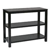 Ave Six MRG07R1-BK Merge Foyer Table Black Finish