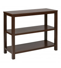 Ave Six MRG07R1-MAH Merge Foyer Table Mahogany Finish