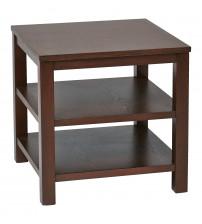 Ave Six MRG09S-MAH Merge 20 Square End Table mahogany Finish