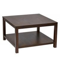Ave Six MRG12SR1-ESP Merge 30 Square Coffee Table Espresso Finish