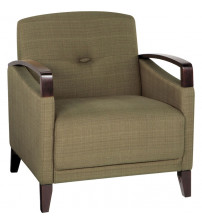 Ave Six MST51-S22 Main Street Woven Seaweed Chair with Interlace Weave Fabric