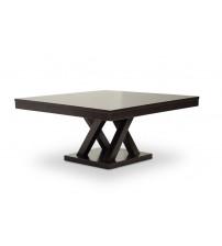 Baxton Studio SA108-Coffee Table Everdon Modern Coffee Table in Dark Brown