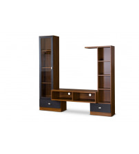 Baxton Studio TV-021-Oak Empire TV Stand
