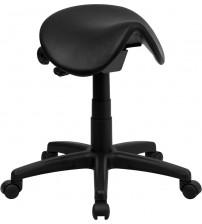 Flash Furniture Backless Saddle Stool WL-915MG-GG