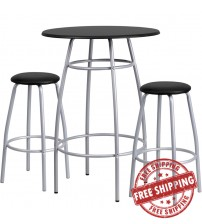 Flash Furniture Bar Height Table and Stool Set YB-YJ922-GG