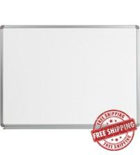 Flash Furniture YU-90X120-WHITE-GG Magnetic Marker Board