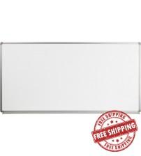 Flash Furniture YU-90X180-WHITE-GG Magnetic Marker Board